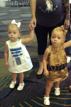 star wars babies (don't think for two seconds I won't be this mom.)