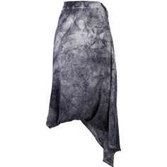Lost & Found Ria Dunn sarrouel skirt ($410) ❤ liked on Polyvore featuring skirts, grey, grey skirt and gray skirt