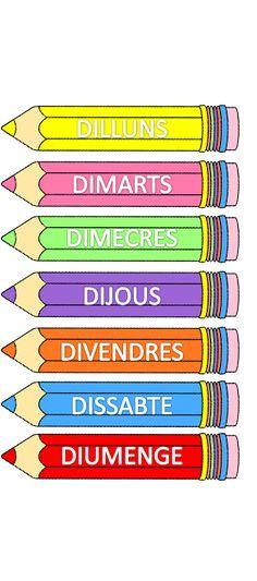 Valencia, Album, Ideas Para, School, Kids Schedule Chart, Classroom Displays, Classroom Organization, Multiplication Tables, Card Book