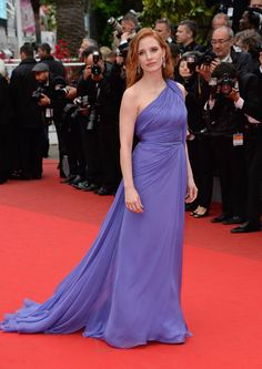 Cannes 2014: The best dressed celebrities on the film festival's red carpet // Jessica Chastain in Elie Saab