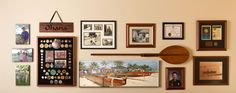 This memory wall honoring a Hawaii waterman features canvas printing, custom framing and specialty koa products from Pictures Plus. So glad we could contribute to this amazing family tribute!