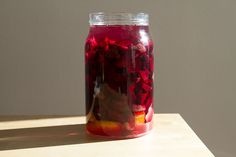 Beet Kvass: an easy probiotic drink made from beets, salt & water