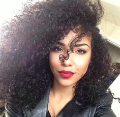 ♚ #Natural hair #black hair #curly #hair #cachos #cacheado #cheveux #Coiffure #boucles #crespo #rizo #long #longo #curls #afro