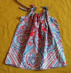 pillowcase dress tutorial | Pins I Like | Pinterest | Designer handbags Kids bunk beds and A child