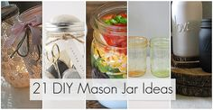 21 DIY mason jar ideas