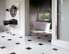 #Sophisticated AND #luxurious! #bathroom