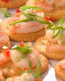 Shrimp on a RITZ Recipe #HomeBowlHeroContest