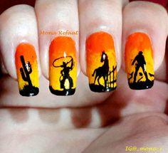 """The wild wild west"" Infinity 09 & MoYou Comics 02  #nails #notd #nailart #nailpolish #jindienails #nailstamping #nails2inspire #thenailartstory #craftyfingers #lovemanicure #prettynails #nailartwow #nailporn #naillove #nailitmag #nailartobsessed #nailaddict #nailswag #nailjunkie #nailartoohlala #nailbling #weloveyournailart #barbiefingers #nailpromote #glamorouspumps #iinailsart #amazing_pretty #sandgnails #queennails"