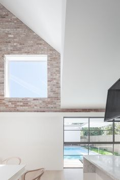 Image 9 of 14 from gallery of House Maher / Tribe Studio. Photograph by Katherine Lu Interior Design Images, Interior Design Boards, Australian Architecture, Modern Architecture, Indoor Outdoor, Outdoor Living, Modern Barn House, Brick Interior, Architect House