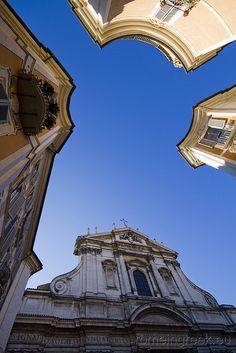 Piazza Sant'Ignazio, Rome Italy