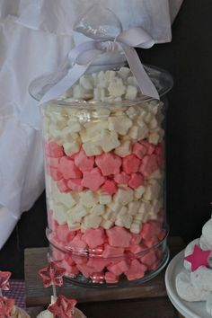 Under the Stars Birthday Party via KarasPartyIdeas.com-idea, but use blue and white marshmallows instead