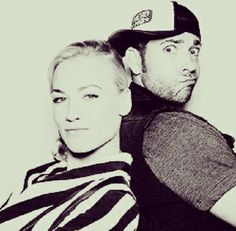 Nerd ❤️ ~ Zachary Levi and Yvonne Strahovski