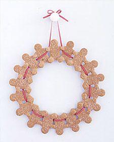 gingerbreadman wreath