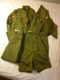 Vintage 50's~60's Boy Scout uniforms
