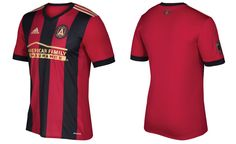 Camisas do Atlanta United FC 2017 Adidas MLS