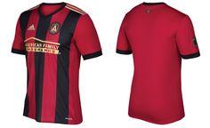 Camisas do Atlanta United FC 2017 Adidas MLS