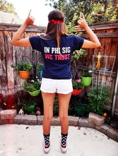 Reppin' Phi Sig on the 4th! submitted by:phisiglaverne
