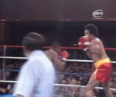 real-hiphophead:  Mike Tyson sends Donnie Long flying with a Superman left-hook in a 1st-Round Knock Outduring his 9th professional fight October 9th, 1985  Yes!