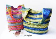 Crochet Bag, FREE EARRINGS / Crochet Purse, Crochet Handbag/ Spring Bag, Summer Bag, Green Handbag, on Etsy, £48.00