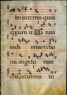 Canto Gregoriano: Partituras latim