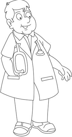 doctor coloring pages pinterest - photo#36