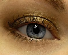Chocolate Gold Eyeshadow  AZTEC GOLD Mineral Eye Shadow by BLSoaps, $4.95