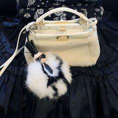 « Mini Peekaboo & Karlito @fendi #colette #Fendi » Tote Handbags, Purses And Handbags, Fendi Bag Bugs, Fur Bag, Hermes Kelly, Handbag Accessories, Louis Vuitton, Shoulder Bag, Shoe Bag