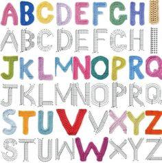 Alfabet haken a tot z