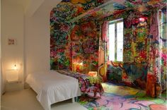 "who wants to stay at the ""Panic Room"" at the Au Vieux Panier Hotel in Marseille, France"