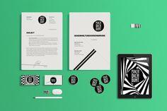 Mach Dich Bunt - Branding by Andrej Balaz, via Behance