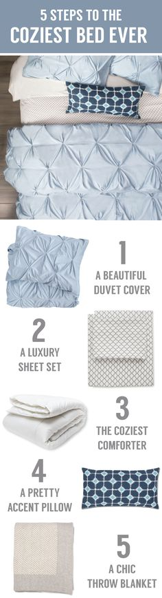 What makes a bed cozy? To us, it's all about choosing the right layers of silky smooth and cozy softness. Our premium bedding, soft sheets and beautiful quilts and designer pillows were re-imagined for the modern home. As seen on the Today Show.