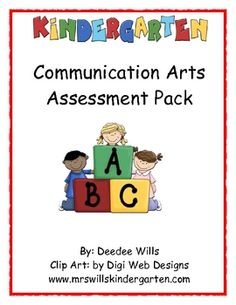 Assessment made easy!  Get organized with this assessment pack.  It has forms with quarterly benchmark expectations for:*Letter and sound recogniton*High frequency words*Print Language ConceptsNot to mention Phonological Awareness Skills such as:*Spoken word concept, rhyme recognition,rhyme completion, rhyme production, syllable blending, syllable segmentation, syllable deletion, phoneme isoloation (initial and ending sounds).These assessments are teacher tested and help you keep track of…