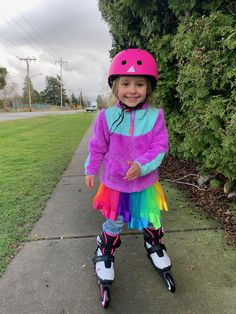 Teaching my three year old daughter how to inline skate was easy.