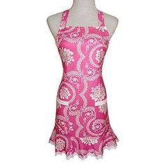 Pretty Pink Apron