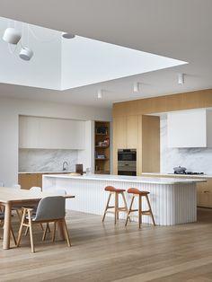 Interior Desing, Interior Design Kitchen, Interior Architecture, Interior Decorating, Küchen Design, House Design, Clever Design, New Kitchen, Kitchen Decor