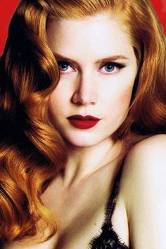 #Amy_Adams- Love the hair style and color. Beautiful!