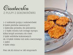 Sposób na miąższ z sokowirówki - Pyszne ciasteczka