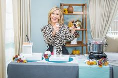 @kymdouglas shared her favorite #Fall #beauty trends for 2020! Home And Family Tv, Mauve Lips, Haylie Duff, Fall Picnic, Airbrush Foundation, Winged Eyeliner Stamp, Bar Workout, Lip Balm Tubes, Rose Essential Oil