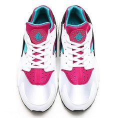 真标/MODEL!耐克华莱士 Nike Air Huarache 翡翠紫红 634835-107  36-46