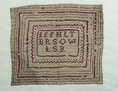 Sampler, 1800s | Flickr - Photo Sharing!
