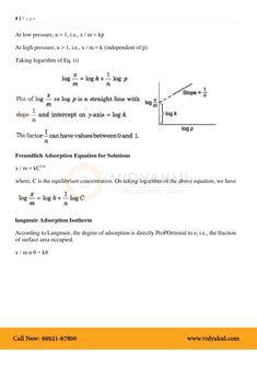Surface Chemistry Class 12 Notes   Vidyakul Surface Chemistry Notes, Chemistry Class 12, Sheet Music, Teacher, Professor, Teachers, Music Sheets