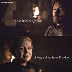 Game Of Thrones Series, Got Game Of Thrones, Game Of Thrones Funny, Game Of Thrones Brienne, Jaime And Brienne, Jaime Lannister, Winter Is Here, Winter Is Coming, Medici Masters Of Florence