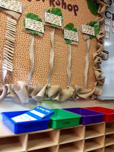 Elementary Safari: Classroom Pictures