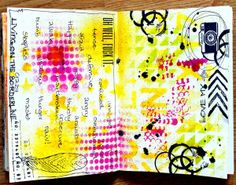 Art journal by @Jeanne Bright Dideriksen