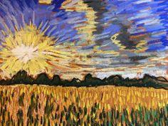 "Now Listing on eBay! Original 9""x12"" Soft Pastel by Tim Bruneau! Don't Let This Deal Slip Away! Artist Landscape Pastels Original Tim Bruneau Impressionism Signed #Impressionism"