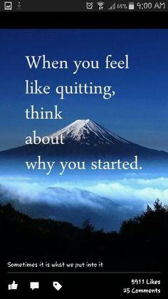 Motivating.