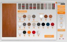 Selecciona el tipo de puerta y sus colores para personalizar el armario a tu gusto