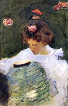 petitpoulailler:  poboh: 1885John Singer Sargent (American, 1856-1925) ~Dorothy Barnard