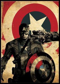 Definitely my favorite super hero :) ~ Captain America
