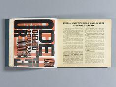 The Bolted Book Facsimile: An Exact Copy of Depero Futurista